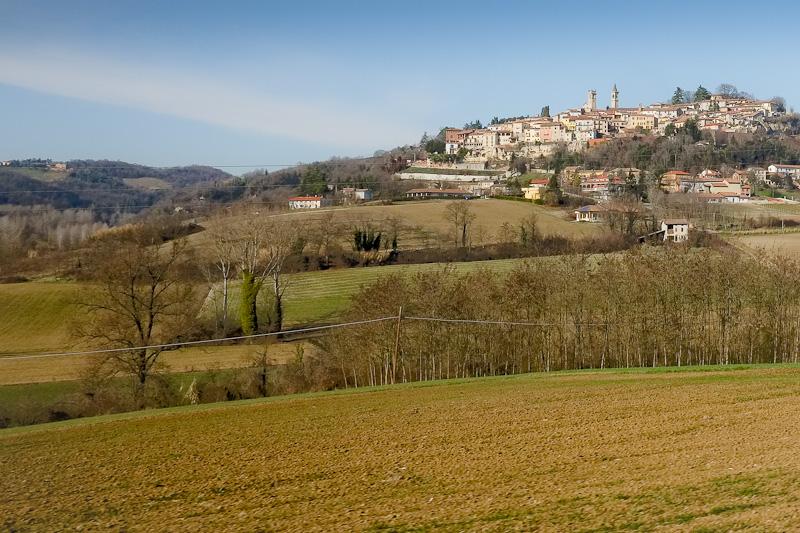 Moncalvo the smallest city in Italy,
