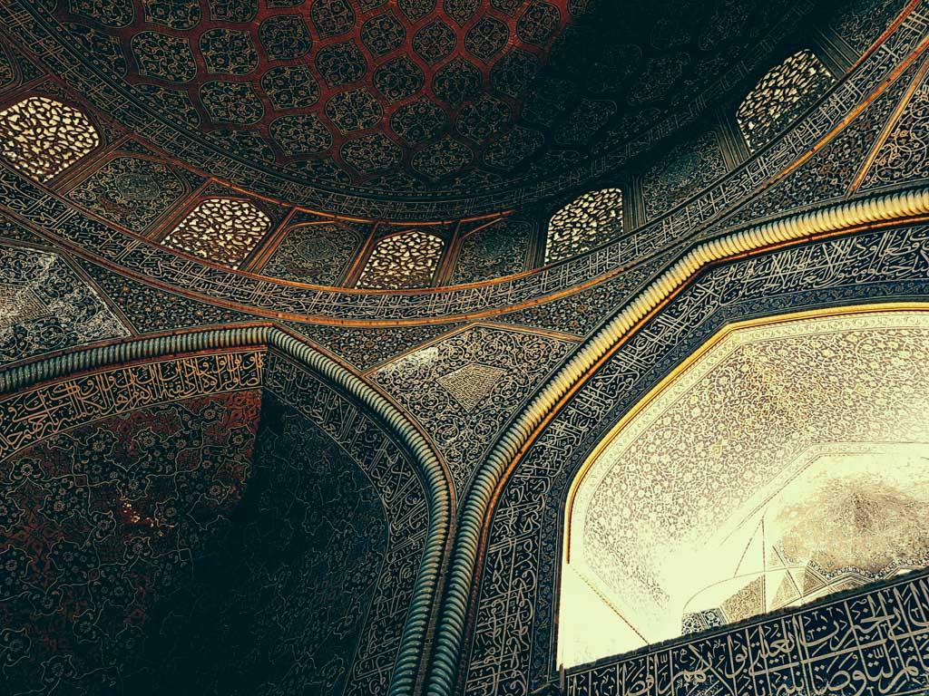 mosque detail esfahan