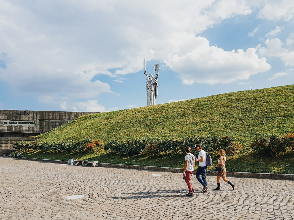 mother russia kiev ukraine