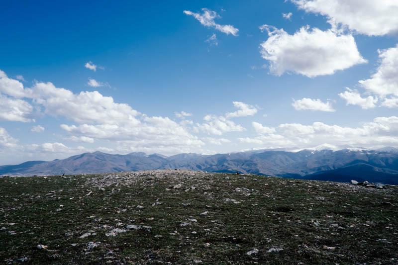 Mount Vodno, Skopje.
