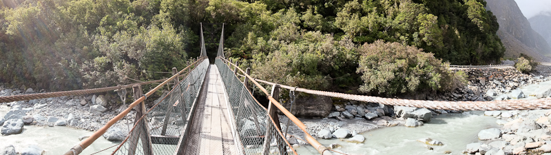 Not so scary - New Zealand Panoramic Photo