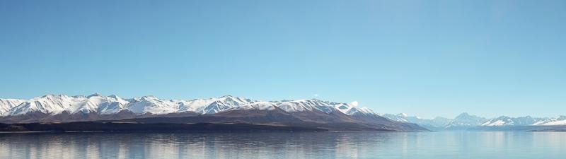 New Zealand Panorama - South Island Mountains