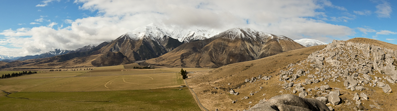 Another New Zealand panoramic photo - taken with the Fuji X-Pro1