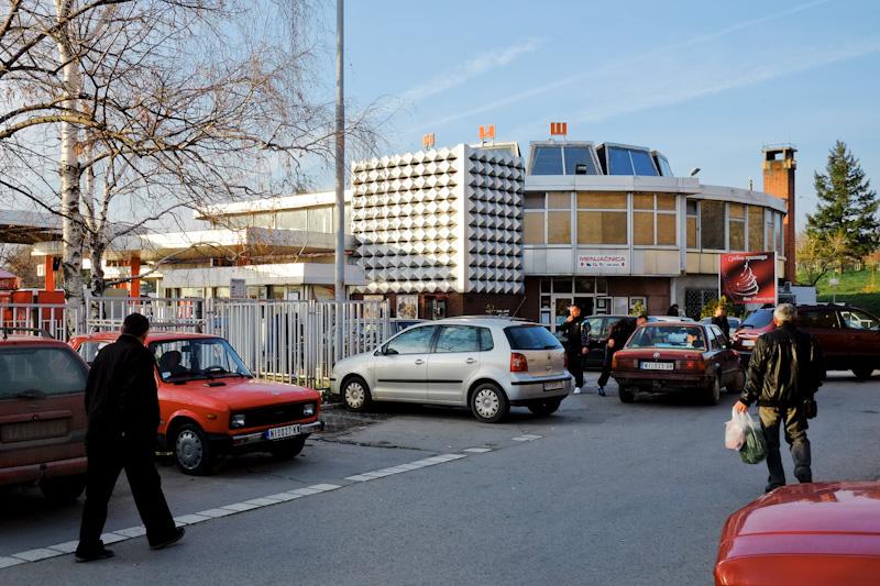 Nis Bus Station - communist architecture
