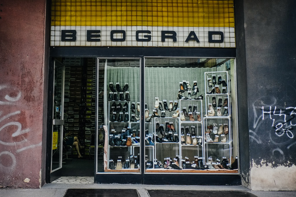 nis serbia shoe shop