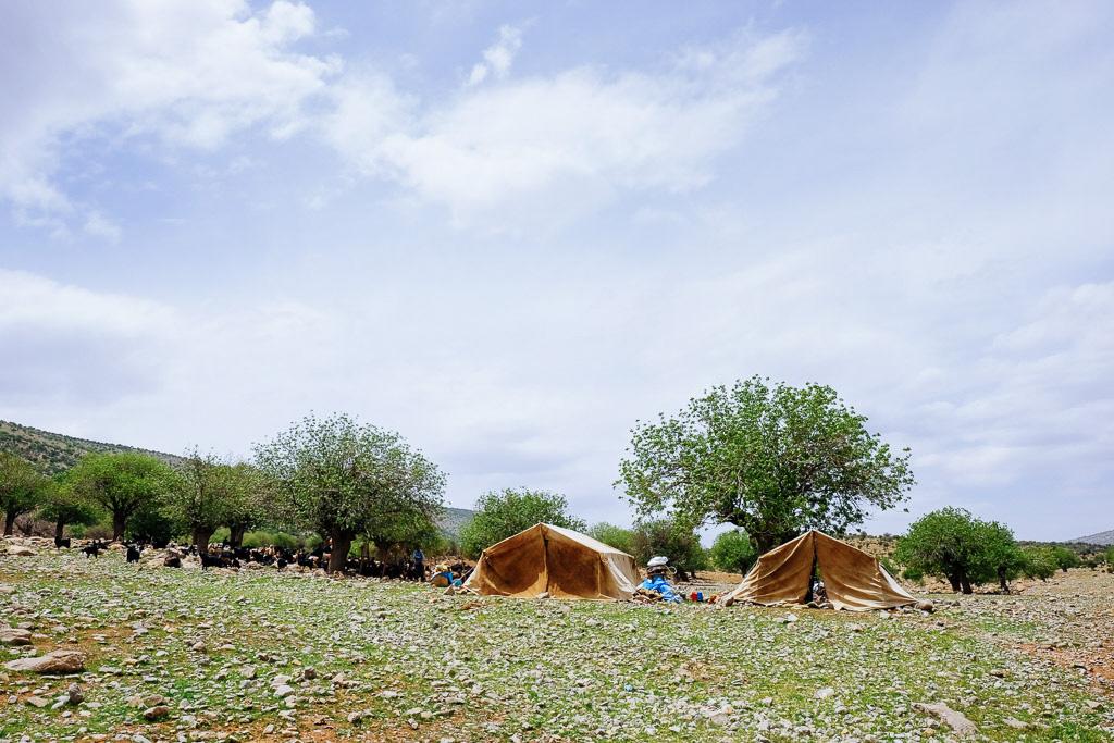 nomadic tents iran