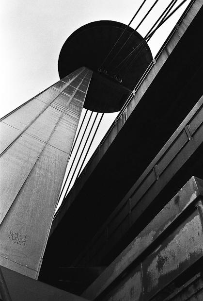 Soviet Architecture of Novy Most UFO, Bratislava