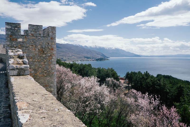 Samuels Castle Ohrid. Macedonia