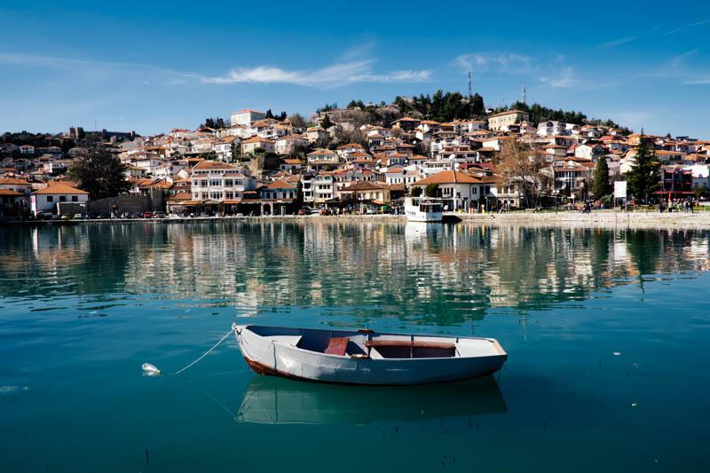 Old town, Ohrid Macedonia.