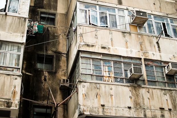 old hong kong buildings