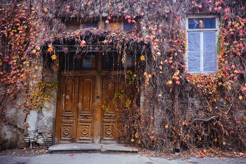 Doorway, Old Tbilisi house.
