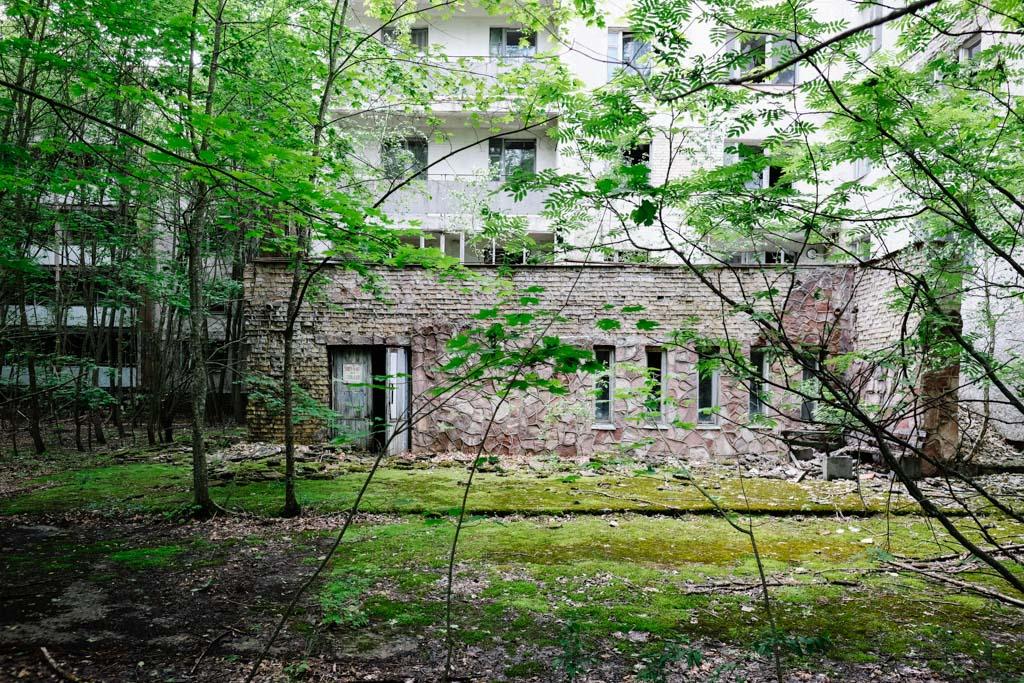 Pripyat city streets chernobyl tour