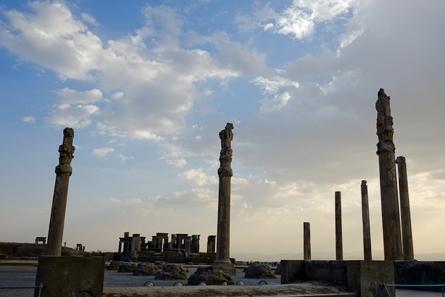 Magical view of Persepolis, Iran