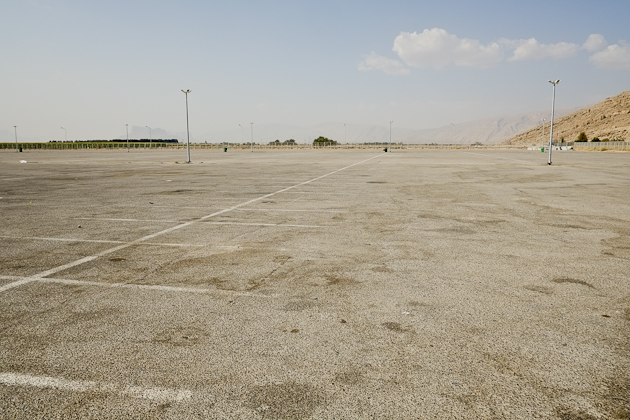 persepolis carpark