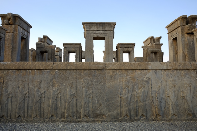 The library of Persepolis is known as a museum of ancient calligraphy.
