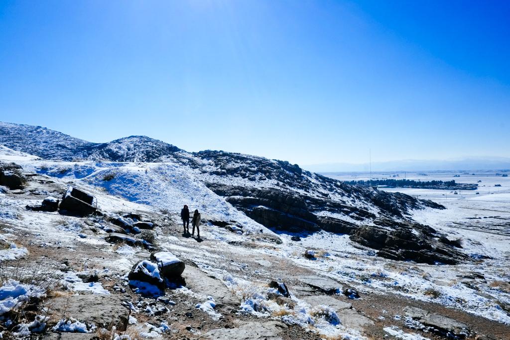 persepolis snow iran