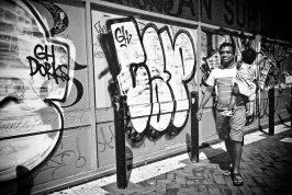 Perth Graffiti - William Street Northbridge