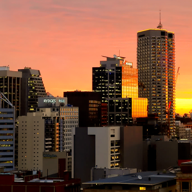 Sunset in the worlds most isolated city, Perth.