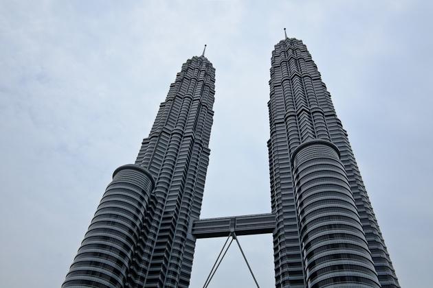 The Petronas Towers at Legoland Malaysia