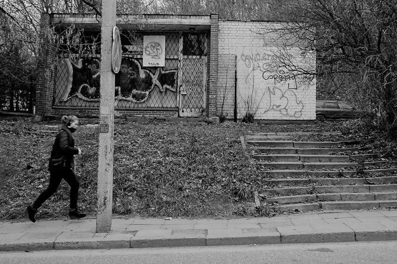 Kindergarden in Uzupis - possibly.
