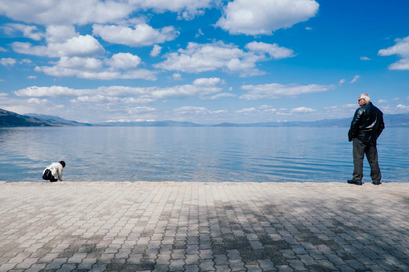 It really is a simply stunning part of the world. Lake Ohrid, from Pogradec, Albania.