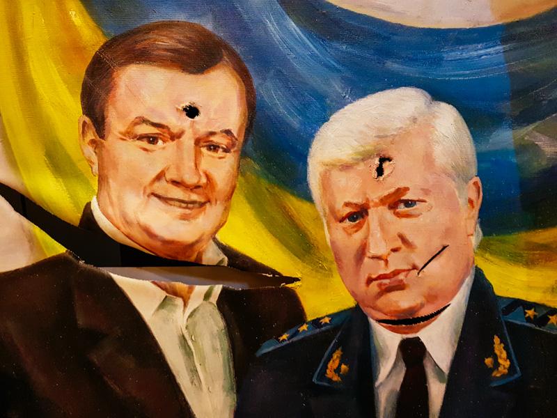 portrait ukraine president yanukovytch