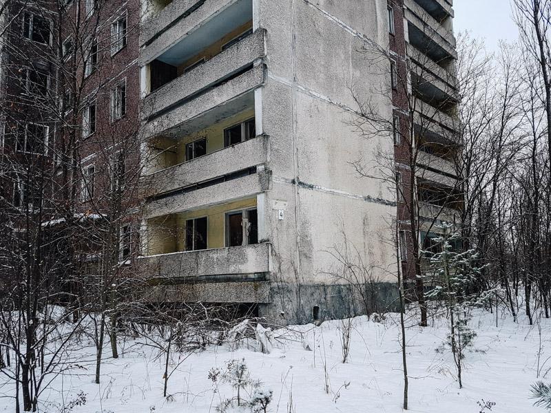 pripyat apartment winter