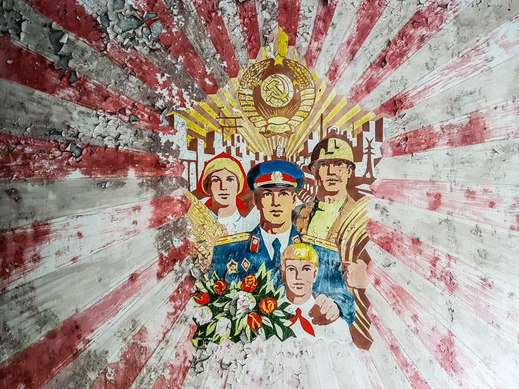 pripyat artwork chernobyl soviet