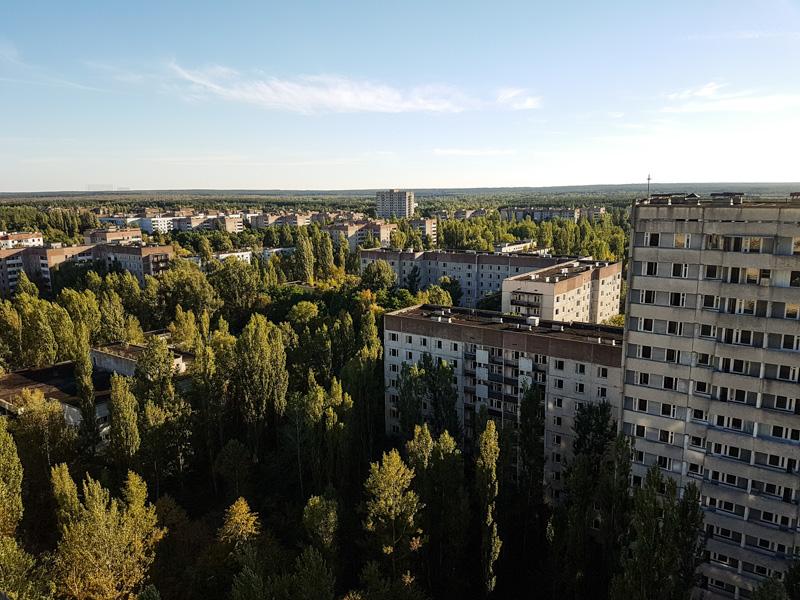 pripyat city views