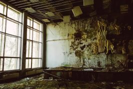 pripyat hospital lecture theatre