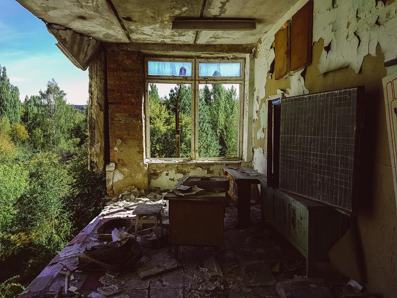 pripyat school abandoned