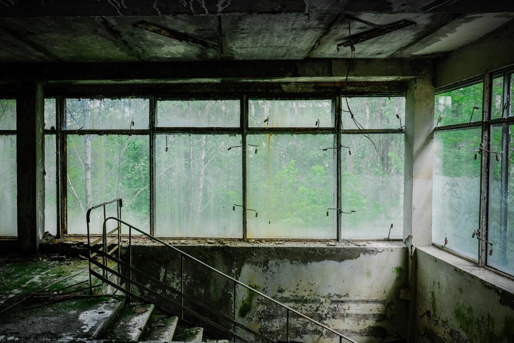 pripyat service center chernobyl