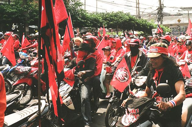 Red Shirt Protesters - Bangkok, Thailand