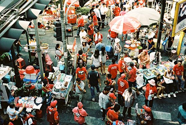 Red Shirts, Bangkok Thailand