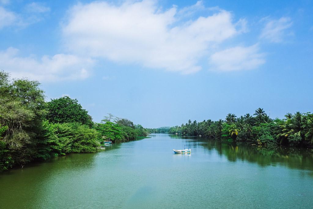 Unknown river, south-west Sri Lanka.