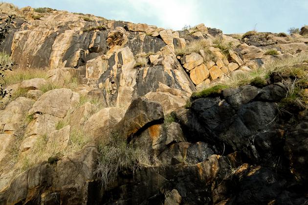 Rocks - Lesmurdie Falls