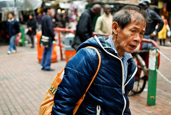 Running to Tim Ho Wan, Mongkok