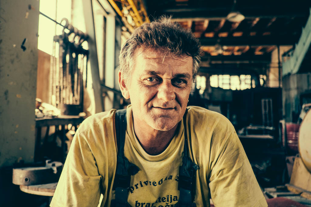 shipyard worker, croatia