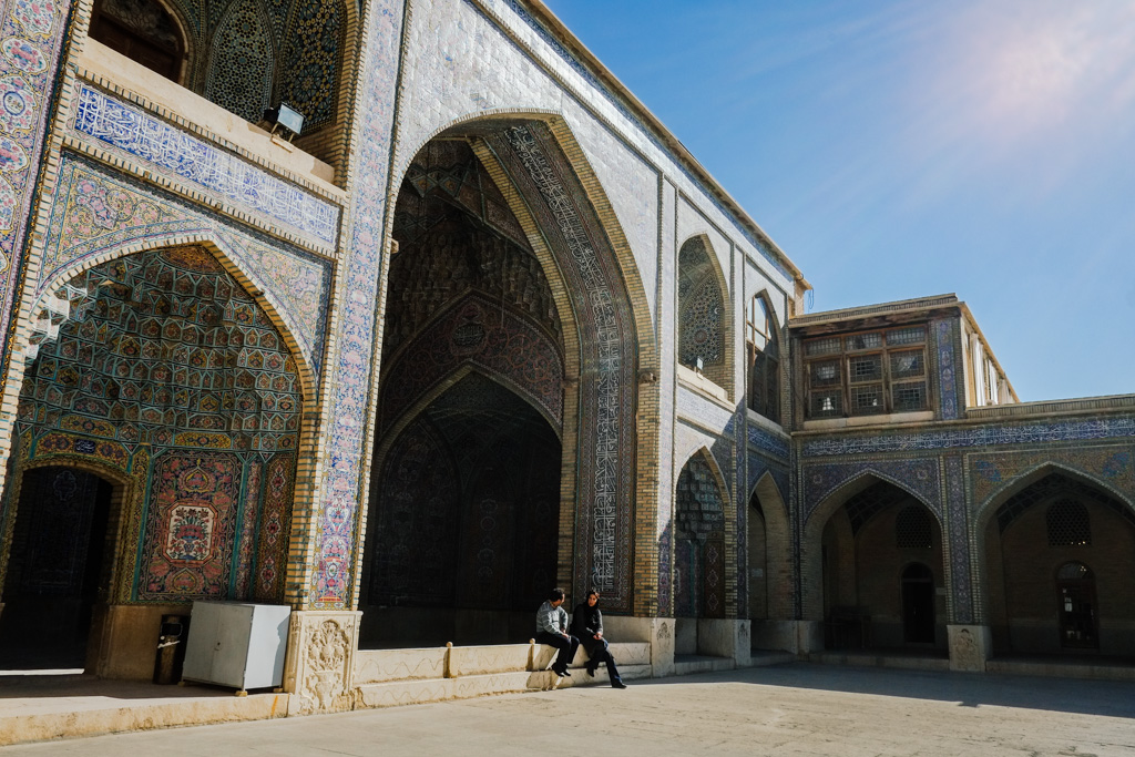 Nasir al-Mulk Mosque, Shiraz, Iran.