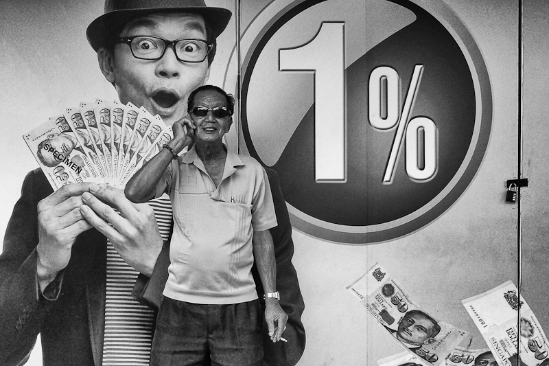 Singapore street photography in Geylang
