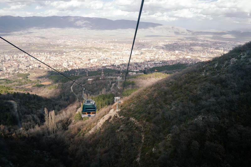 View of Skopje from the MiIllennium Cross