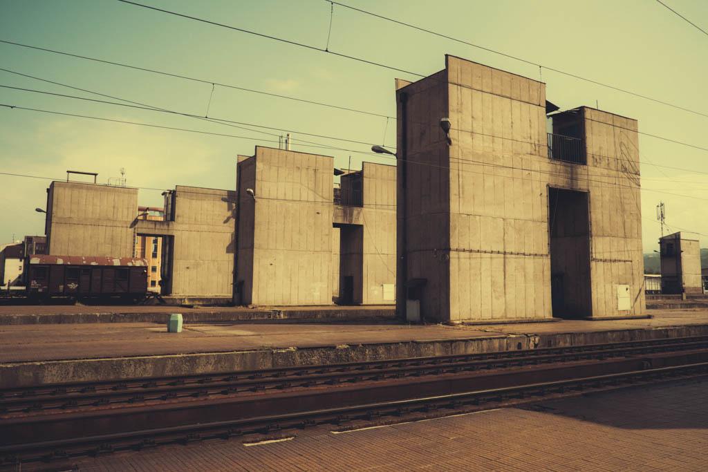 skopje train station communist