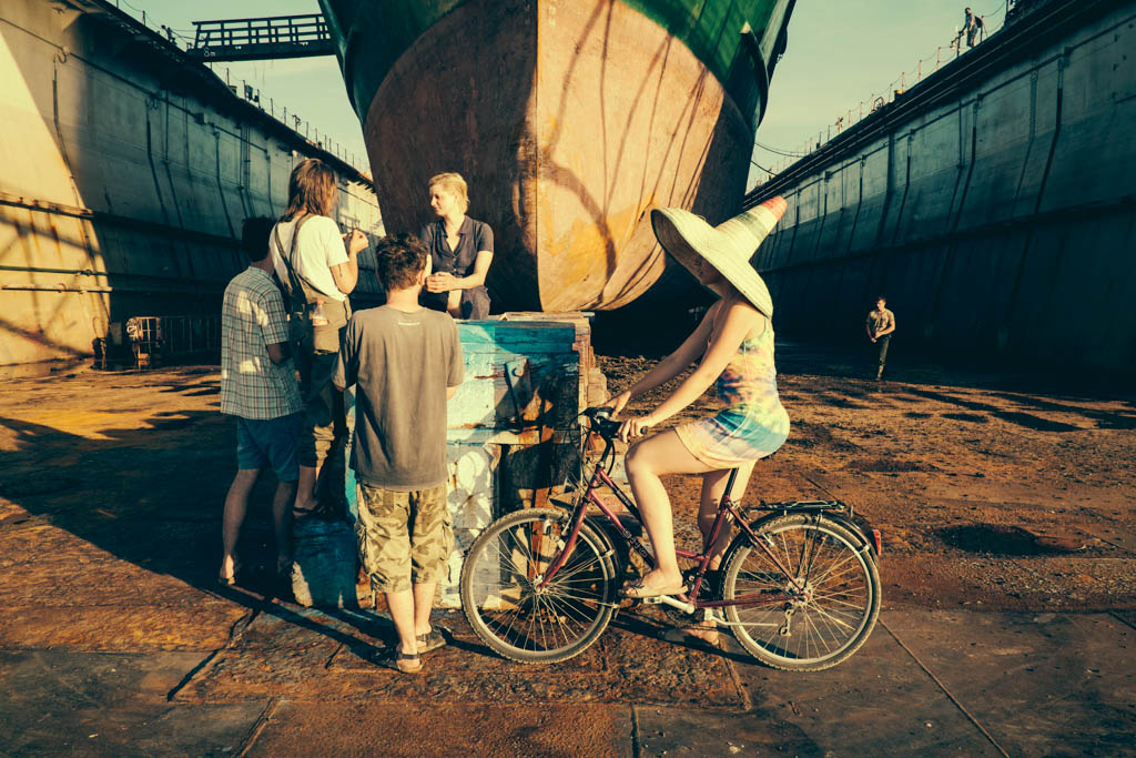 dry dock shipyard croatia