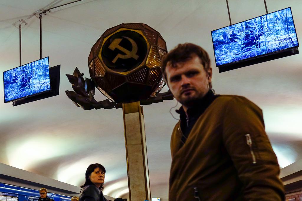 soviet metro station minsk