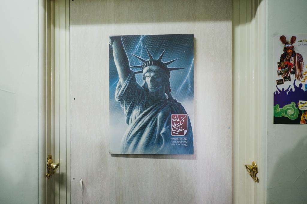 statue of liberty iran embassy den