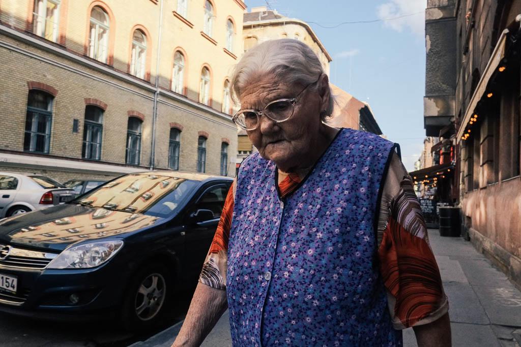 street photo in budapest