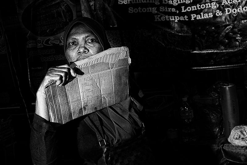 KL street photography - Malaysian food Hawker
