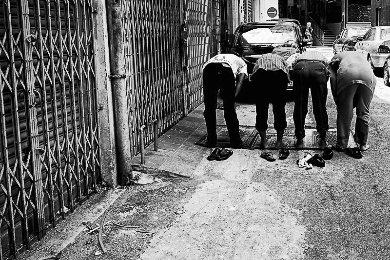 street photography Malaysia - it must be Friday