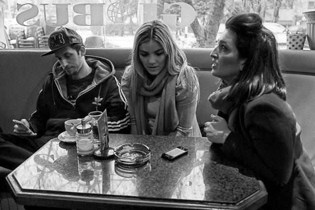 Globus Bar and Cafe, Zagreb, Croatia.