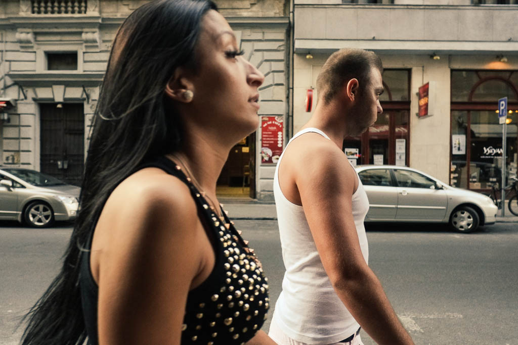 street photography in Budapest